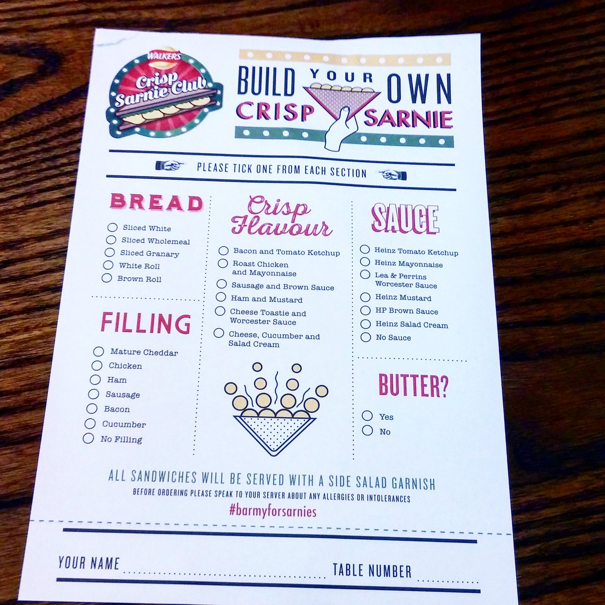 Walkers_crisp_sandwich_pop-up_cafe_menu_Tooley_Street_SE1